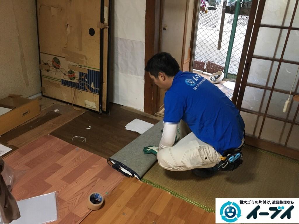 2017年1月20日大阪府堺市堺区で家具や生活ゴミなどの処分で遺品整理を行いました。写真2