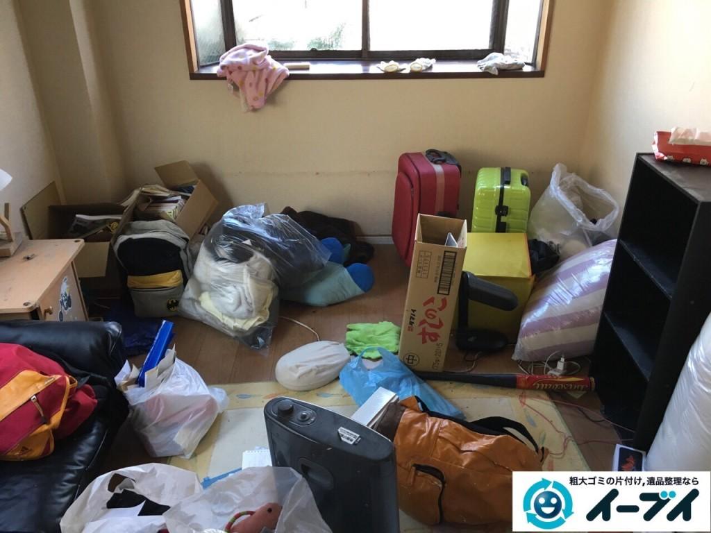 2017年1月26日大阪府泉佐野市で引越しに伴う、引っ越しゴミや粗大ゴミの不用品回収をしました。写真5