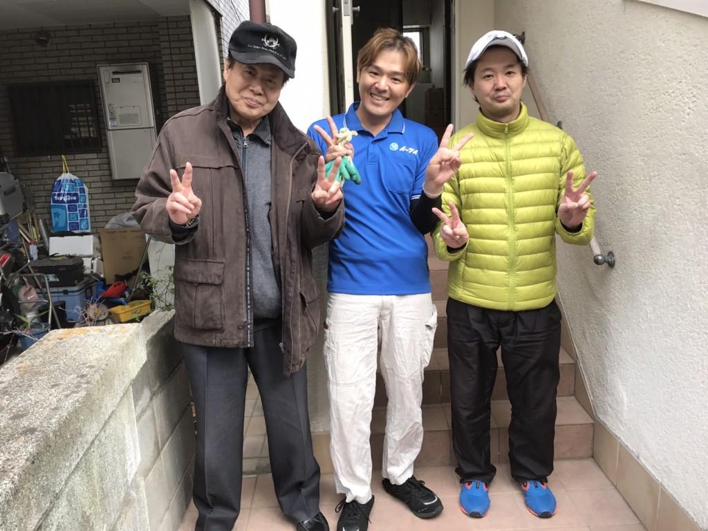 2017年大阪府大阪市淀川区で引っ越しに伴う、家財道具の処分をイーブイでご利用して頂きました。