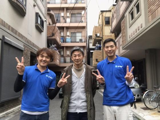 1月2日 大阪府大阪市住吉区でベランダの廃品やガレージの粗大ゴミの片付けでイーブイを利用していただきました。