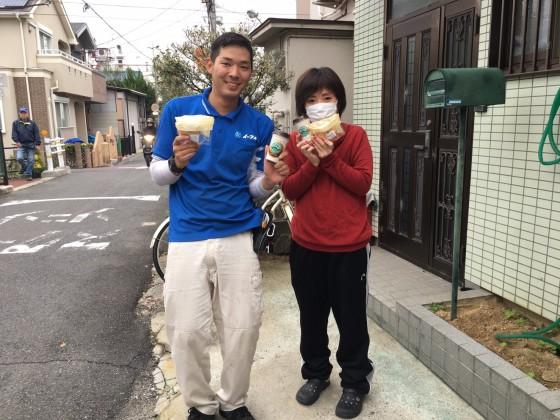 2017年1月17日 大阪府東大阪市でソファーや粗大ゴミの不用品回収でイーブイをご利用してくださいました。写真2