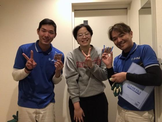 1月14日 大阪府大東市で衣類や雑誌の生活ゴミや電化製品の不用品回収でイーブイをご利用して頂きました。