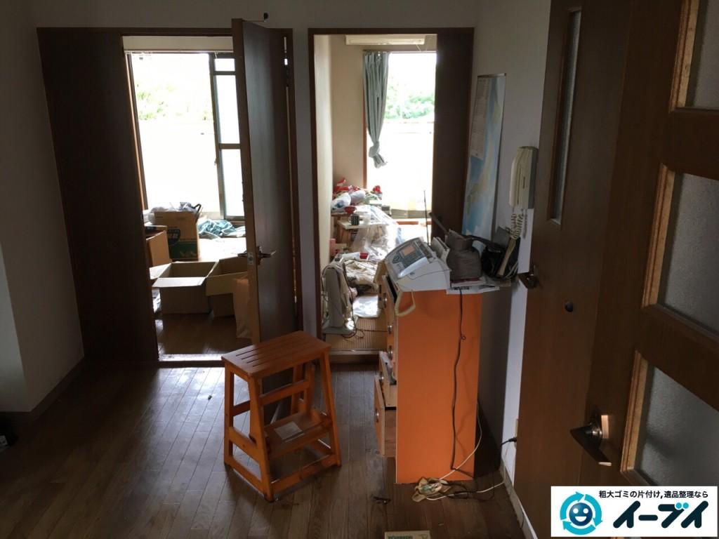 2017年1月16日 大阪府八尾市で孤独死の遺品整理で家具処分や片付けをしました。1