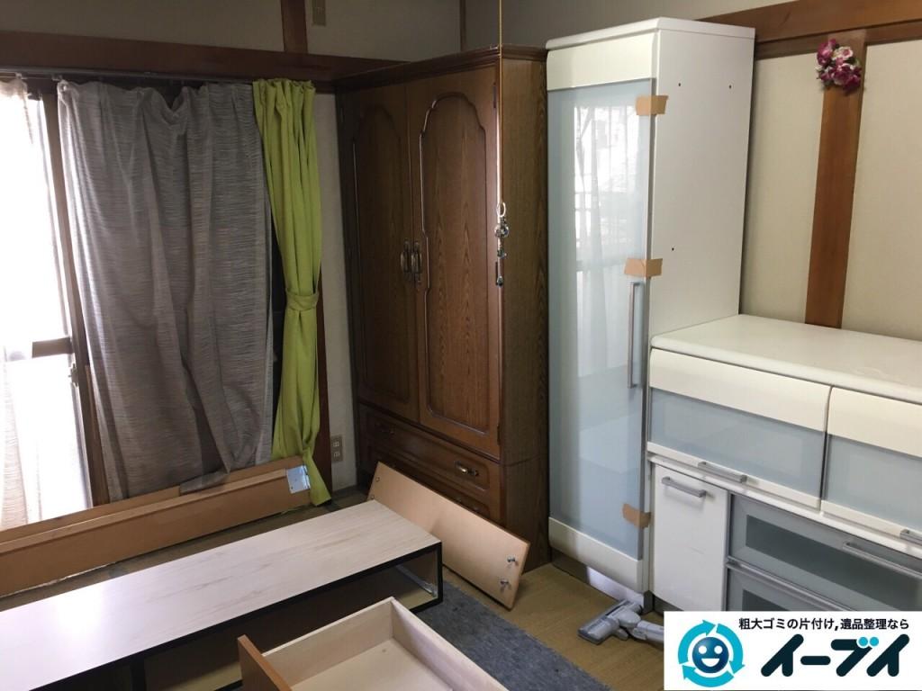 12月5日 大阪府大阪市都島区で遺品整理に伴う家具や粗大ゴミの片付けをしました。写真6