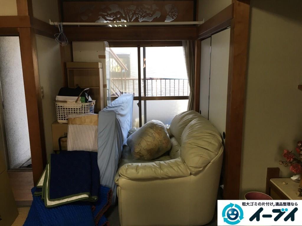 12月5日 大阪府大阪市都島区で遺品整理に伴う家具や粗大ゴミの片付けをしました。写真5