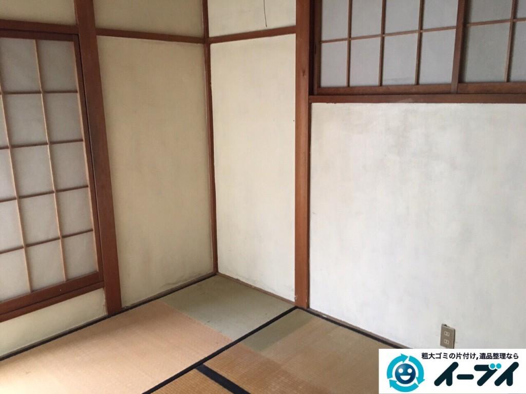 1月9日 大阪府大阪市福島区で遺品整理に伴う布団や嫁入りタンスの家具処分をしました。写真5