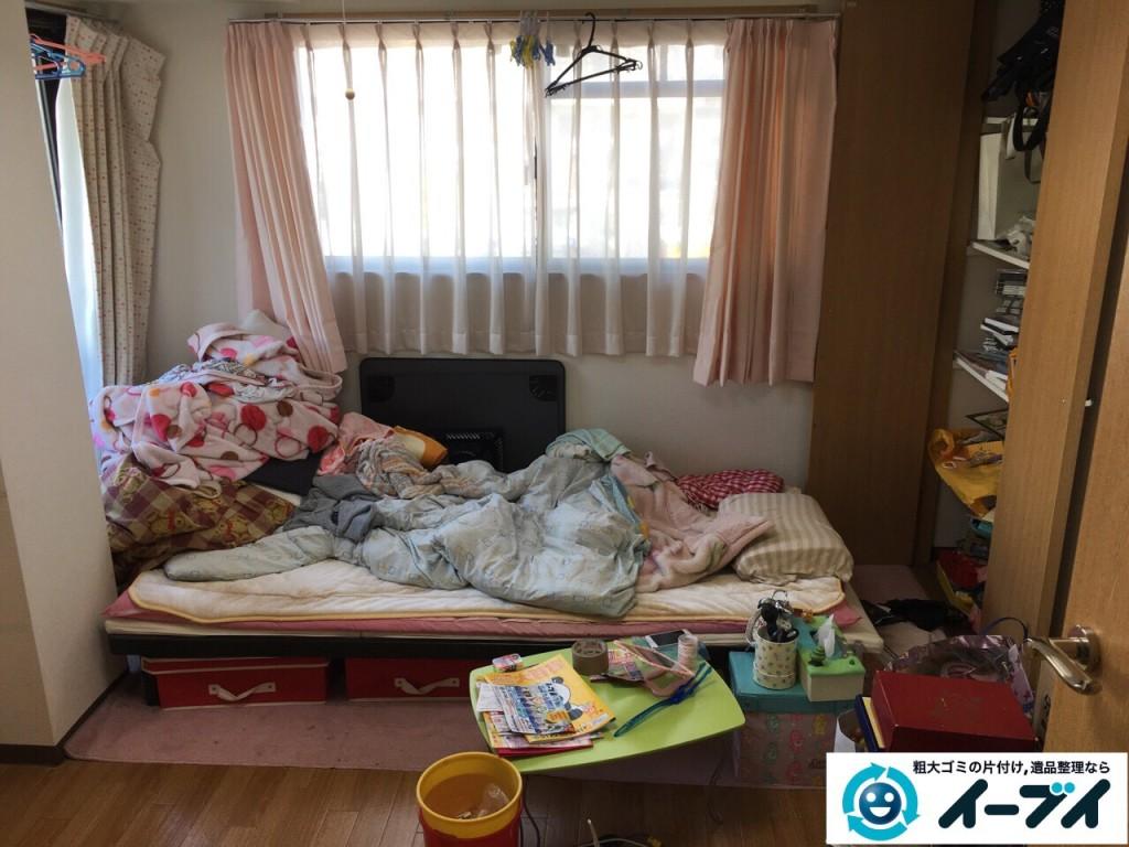 1月12日 大阪府堺市中区で引越しに伴いベッドや粗大ゴミを片付けました。写真4