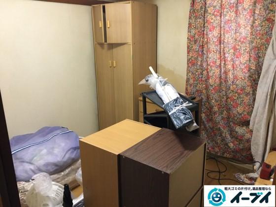 1月6日 大阪府大阪市東成区で家具処分や粗大ゴミの不用品回収をしました。写真3