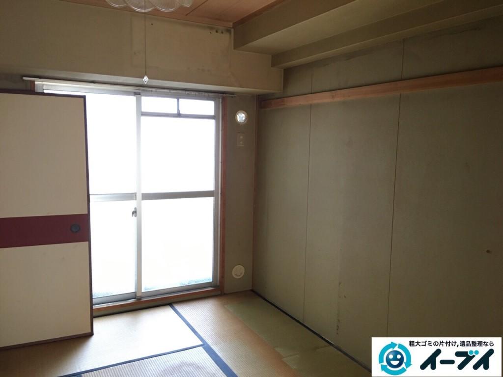 2017年1月23日大阪府堺市美原区で大型家具やイスなど粗大ゴミの不用品回収をしました。写真3