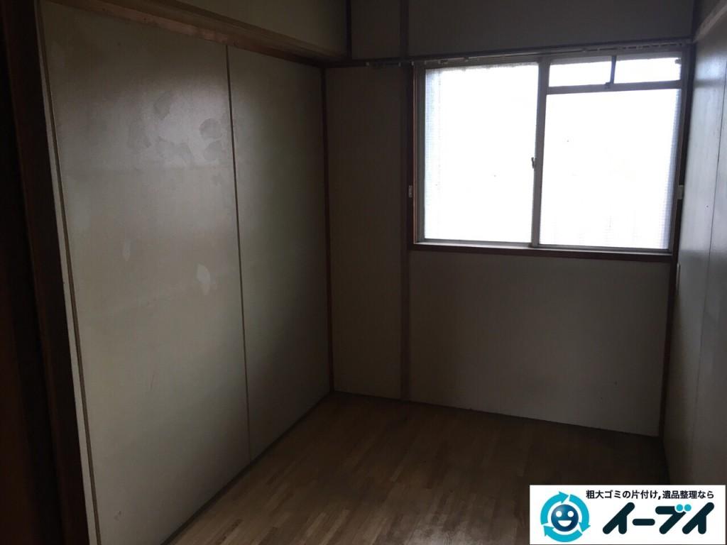 2017年1月22日大阪府堺市南区で遺品整理に伴う家具や生活用品の片付けをしました。写真5