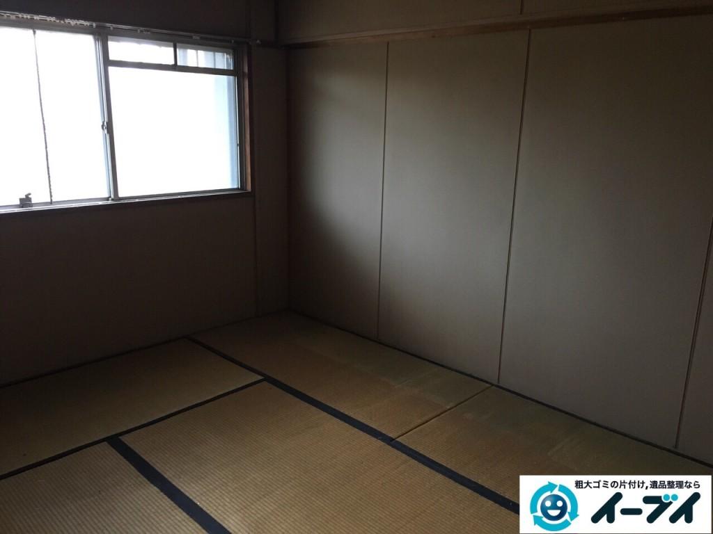 2017年1月22日大阪府堺市南区で遺品整理に伴う家具や生活用品の片付けをしました。写真4