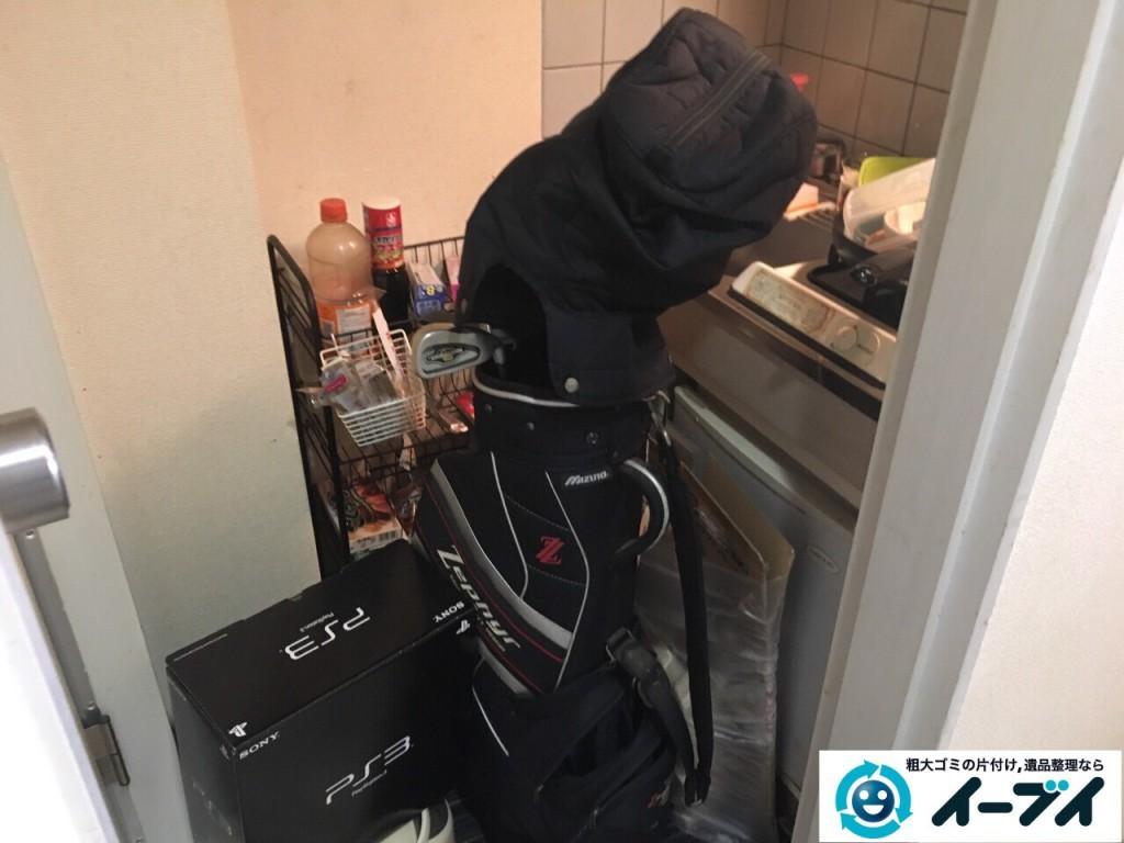 1月15日 大阪府堺市東区で冷蔵庫やレンジ台など粗大ゴミの不用品回収をしました。写真4