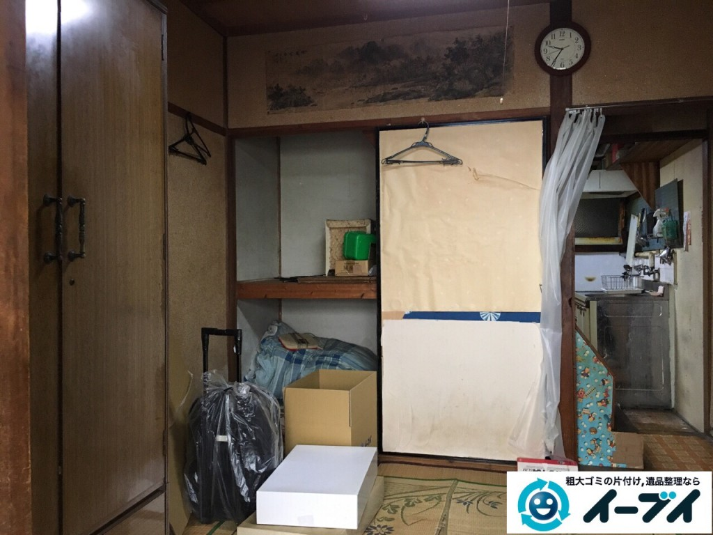 2017年1月29日大阪府門真市で遺品整理に伴い家具処分や生活用品の処分をしました。写真7