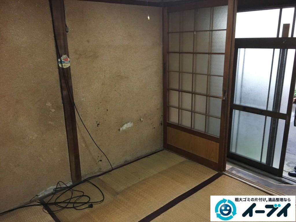 2017年1月29日大阪府門真市で遺品整理に伴い家具処分や生活用品の処分をしました。写真4
