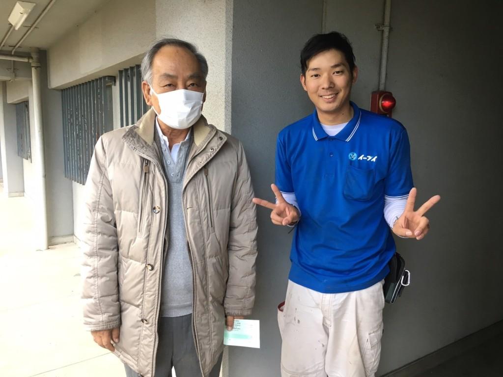 12月5日 大阪府堺市南区で引越しに伴い部屋の家財道具一式の不用品回収でイーブイを利用していただきました。