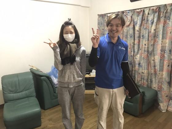 2017年2月10日大阪府三島郡島本町で部屋の片付けに伴い、家具や粗大ゴミ処分でイーブイを利用して頂きました。