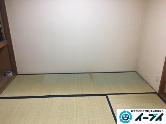 2017年3月2日大阪府大阪市阿倍野区で大型家具や押し入れの布団や粗大ゴミの不用品回収をしました。写真5