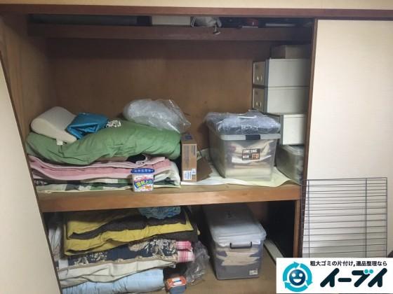 2017年3月2日大阪府大阪市阿倍野区で大型家具や押し入れの布団や粗大ゴミの不用品回収をしました。写真3
