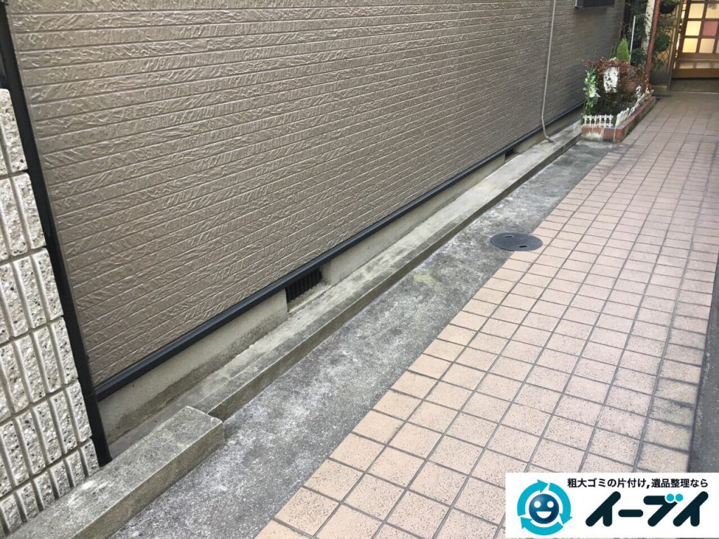 2017年3月7日大阪府大阪市都島区で婚礼家具や衣類などの粗大ゴミの不用品回収をしました。写真2