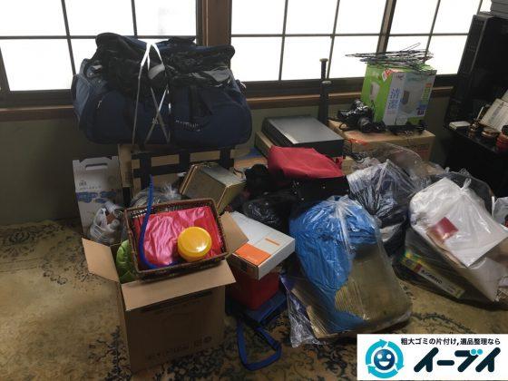 2017年3月4日大阪府大阪市鶴見区で大型家具の処分や生活ゴミや粗大ゴミの不用品回収をしました。写真5