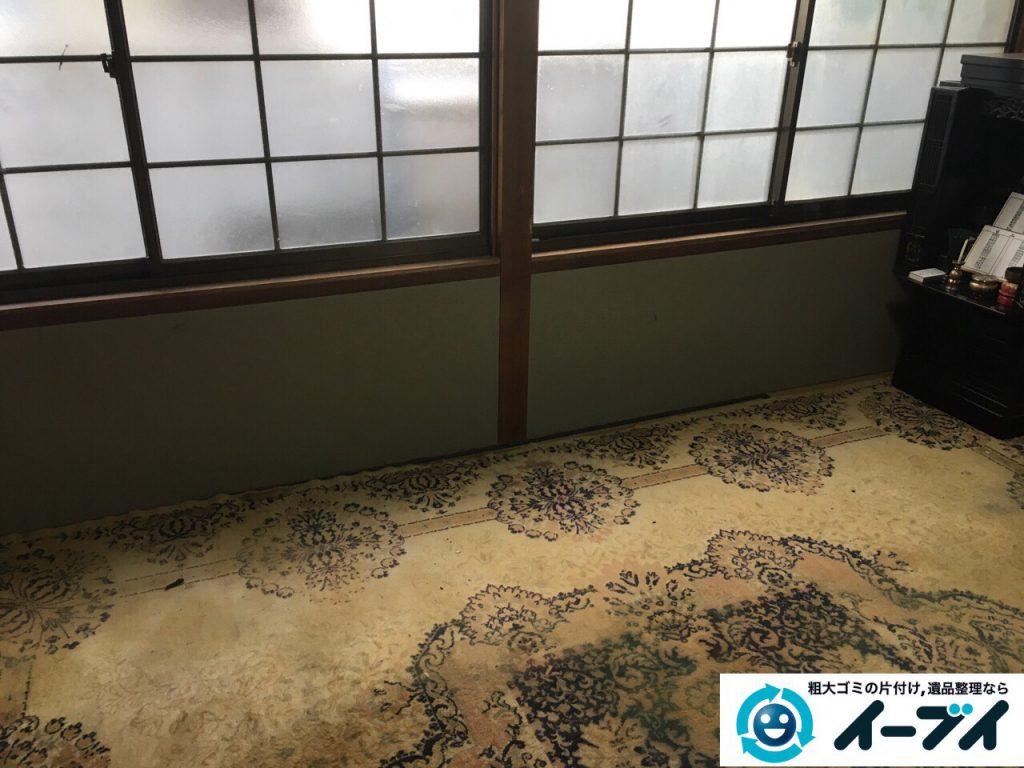 2017年3月4日大阪府大阪市鶴見区で大型家具の処分や生活ゴミや粗大ゴミの不用品回収をしました。写真3