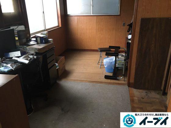 2017年3月7日大阪府大阪市都島区で婚礼家具や衣類などの粗大ゴミの不用品回収をしました。写真3
