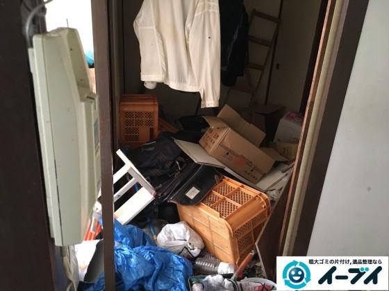 2017年2月18日大阪府摂津市で汚部屋状態になっているゴミ屋敷の片付けをしました。写真8