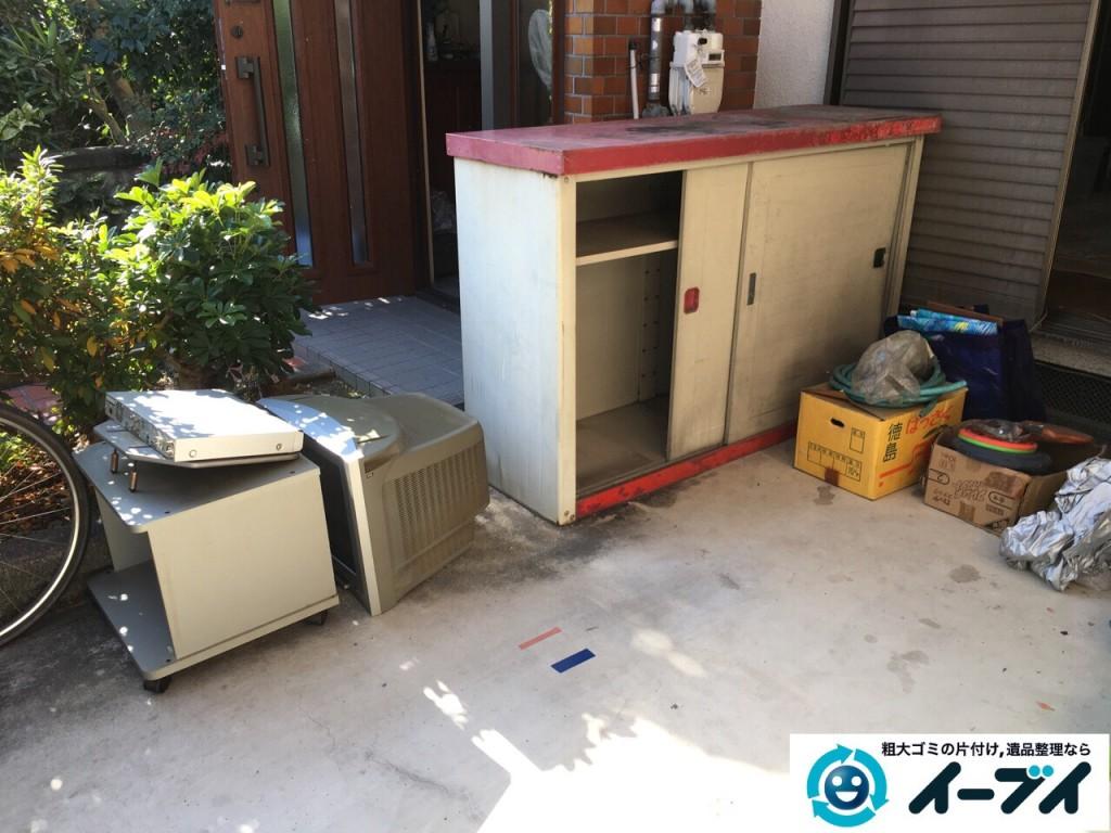 2017年3月1日大阪府堺市堺区でガレージの物置や廃品の粗大ゴミを処分しました。写真6