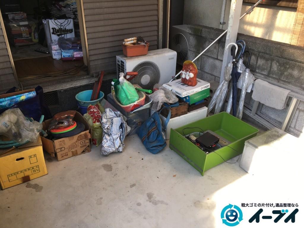2017年3月1日大阪府堺市堺区でガレージの物置や廃品の粗大ゴミを処分しました。写真5