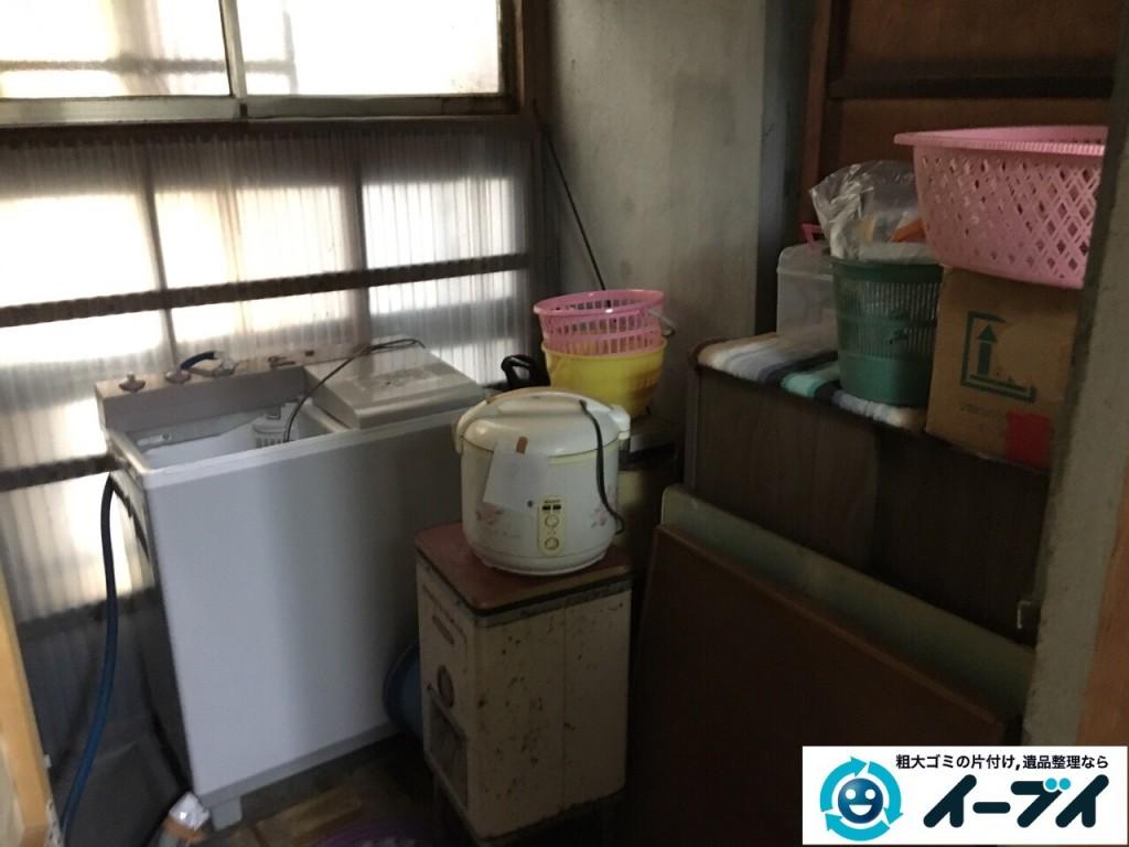2017年2月23日大阪府堺市北区で遺品整理に伴う生活ゴミや家具処分をイーブイにご依頼いただけました。写真1