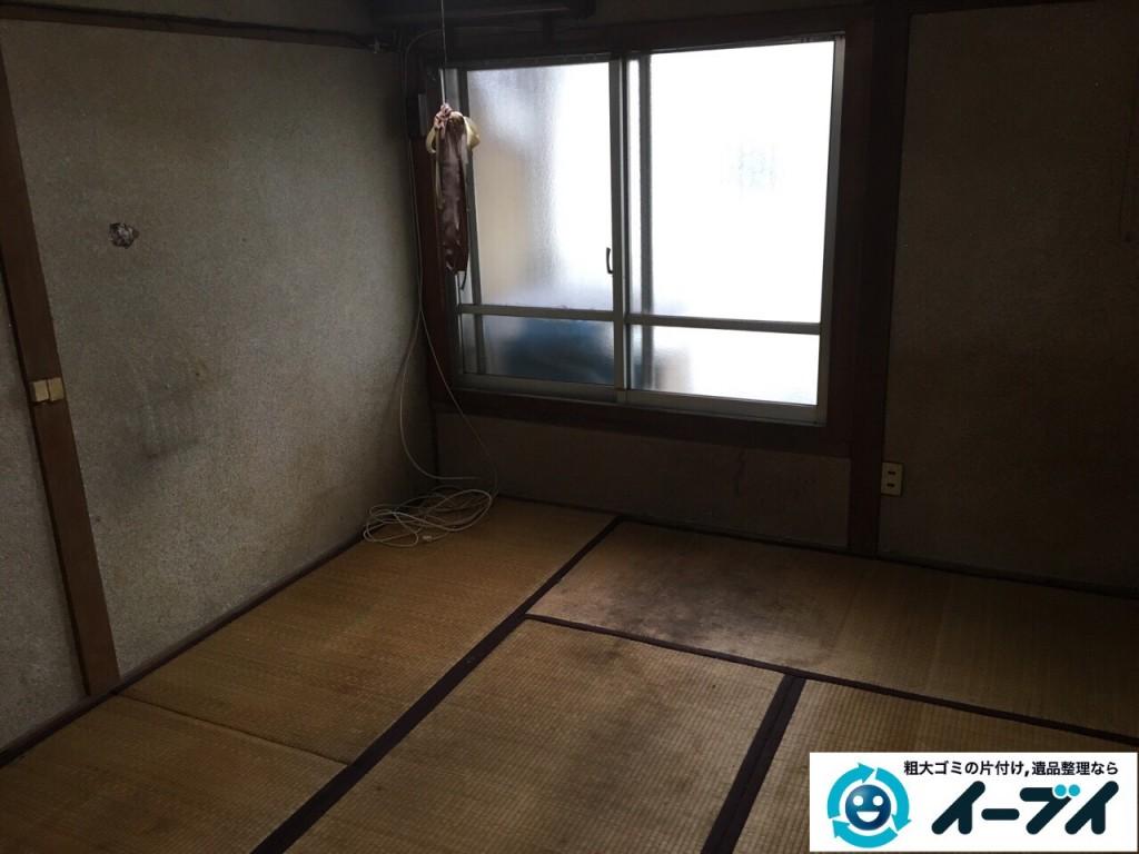 2017年2月23日大阪府堺市北区で遺品整理に伴う生活ゴミや家具処分をイーブイにご依頼いただけました。写真5
