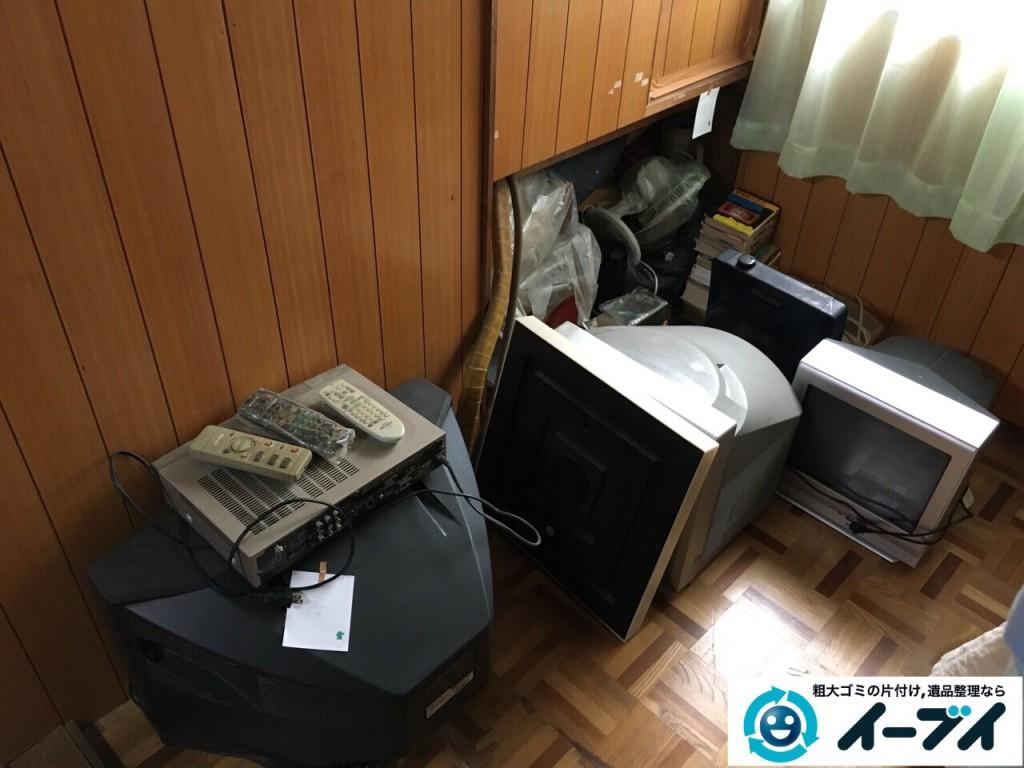 2017年1月2日大阪府富田林市で遺品整理に伴い布団や粗大ゴミと家具処分の回収をしました。写真5