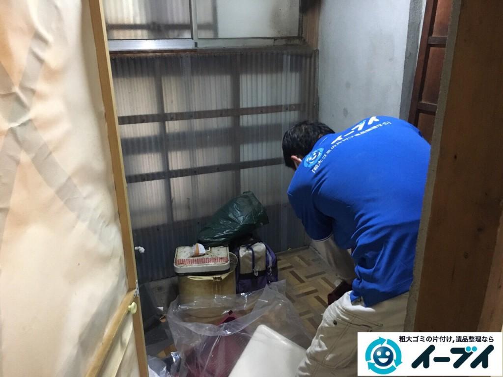 2017年2月23日大阪府堺市北区で遺品整理に伴う生活ゴミや家具処分をイーブイにご依頼いただけました。写真2