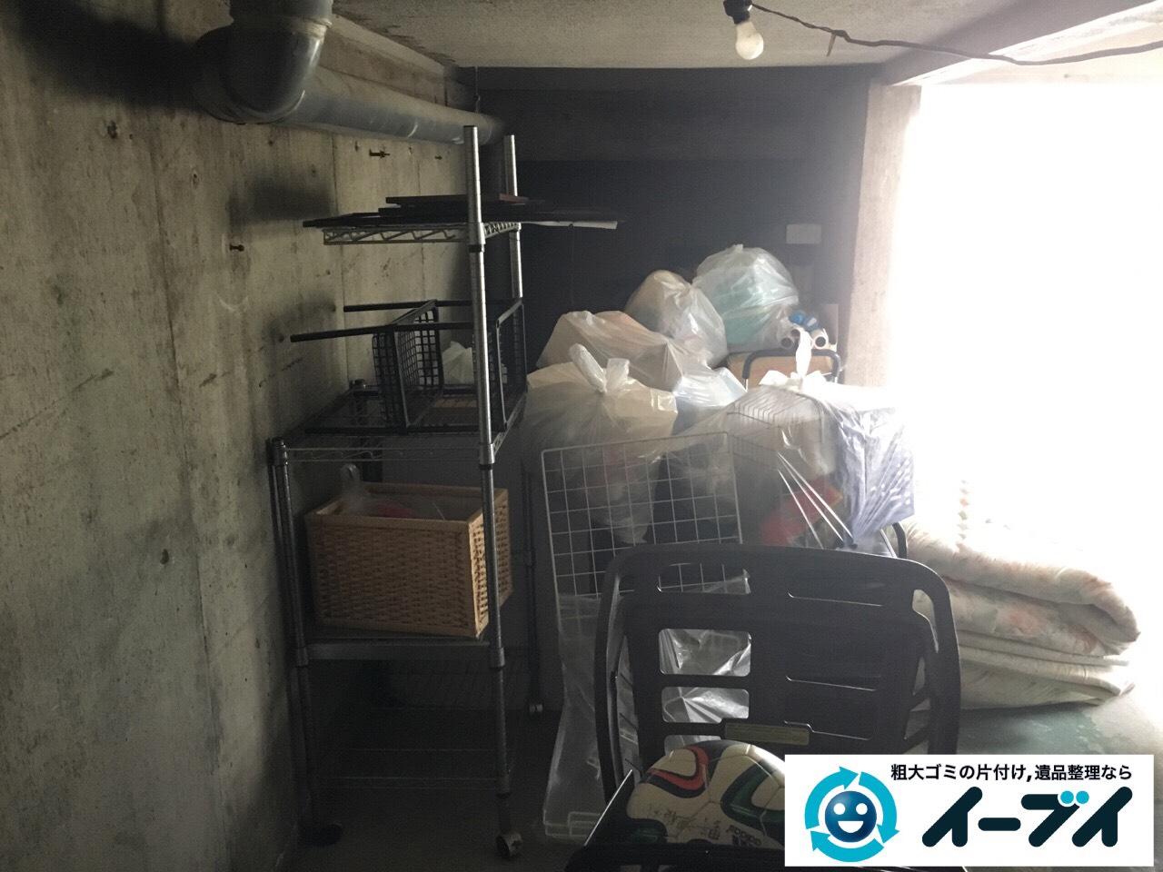 2017年2月17日大阪府藤井寺市でガレージの廃品や生活ゴミや粗大ゴミの処分をしました。写真4
