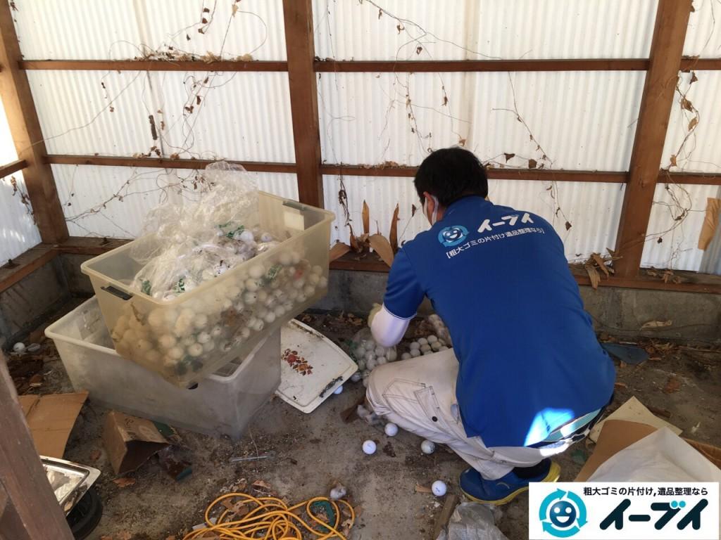 2017年2月19日大阪府松原市で庭の物置や廃品などの粗大ゴミの処分をしました。写真6