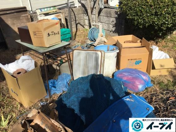 2017年2月20日大阪府松原市で庭の物置や廃品などの粗大ゴミの処分をしました。写真4