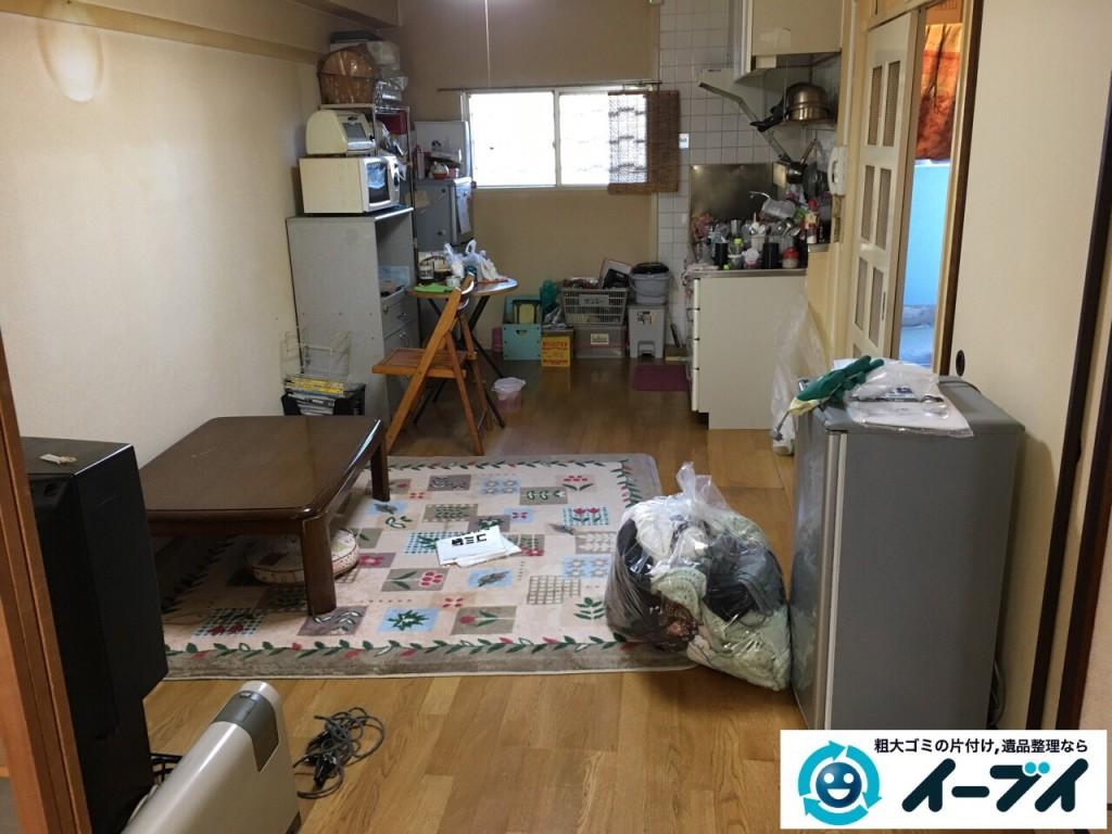 2017年2月8日大阪府富田林市で引っ越しに伴い家具や生活ゴミの不用品回収をしました。写真6