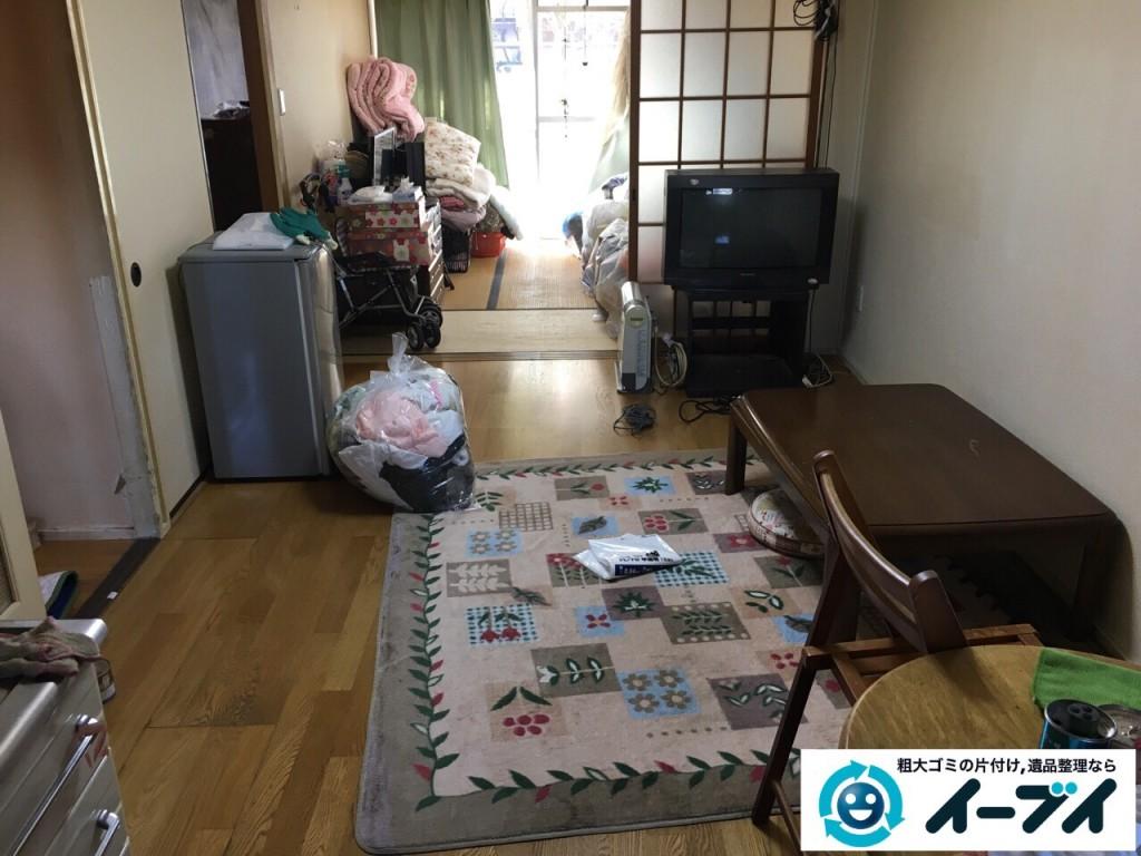 2017年2月8日大阪府富田林市で引っ越しに伴い家具や生活ゴミの不用品回収をしました。写真5