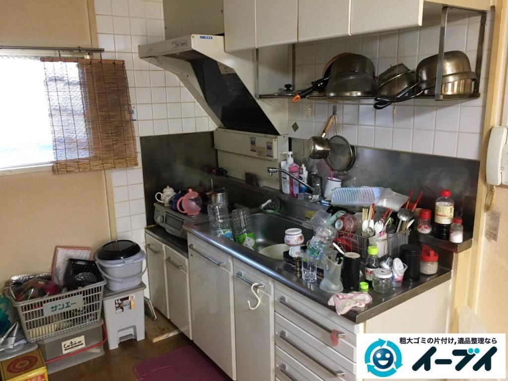 2017年2月8日大阪府富田林市で引っ越しに伴い家具や生活ゴミの不用品回収をしました。写真4