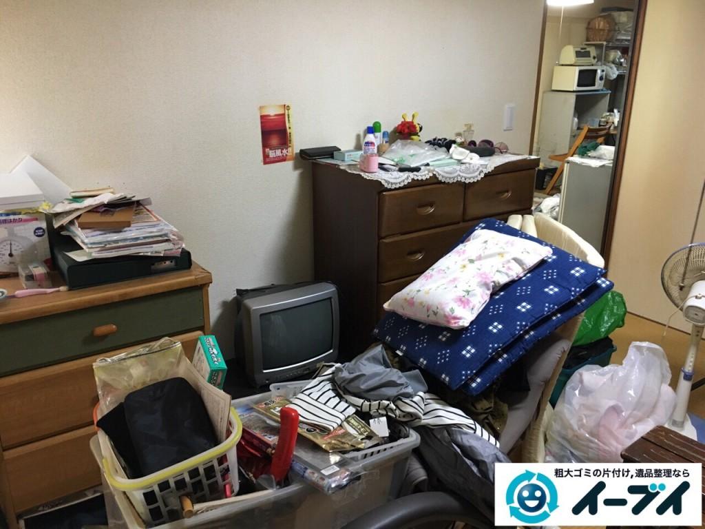 2017年2月21日大阪府守口市で遺品整理に伴い家具処分や生活ゴミの片付けをしました。写真5