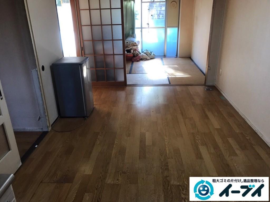 2017年2月8日大阪府富田林市で引っ越しに伴い家具や生活ゴミの不用品回収をしました。写真2