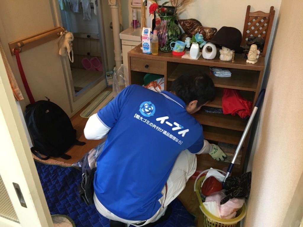 2017年2月9日大阪府羽曳野市で洗濯機や下駄箱の不用品回収をしました。写真2