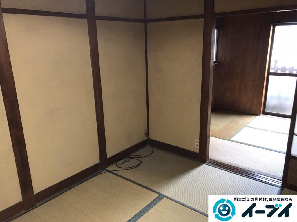 2017年3月5日大阪府茨木市で遺品整理に伴う片付け処分を行いました。写真4