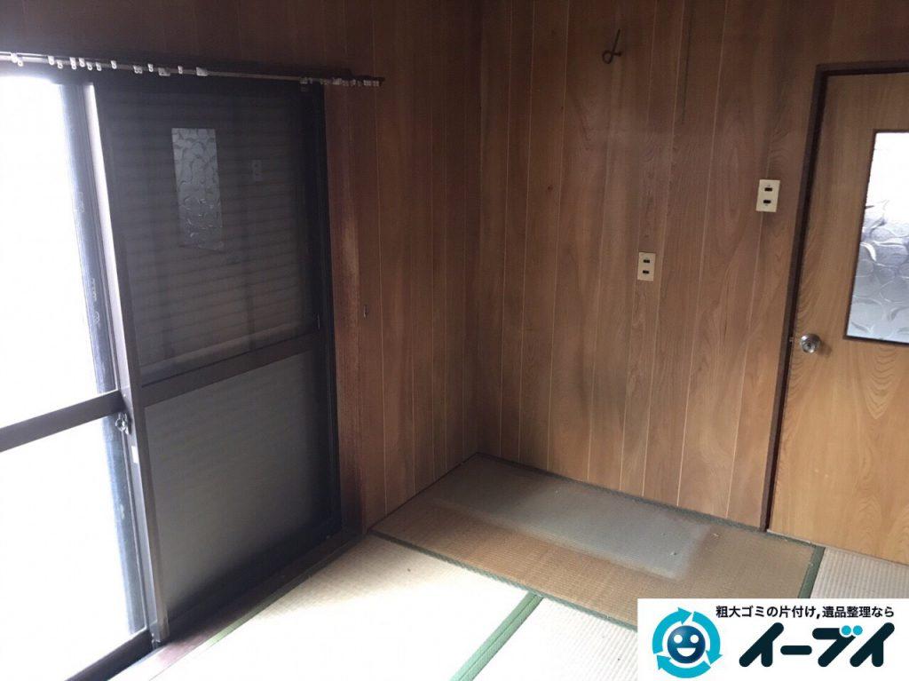 2017年3月10日大阪府大阪市大正区で足踏みミシンやタンスなど大型家具や粗大ゴミの不用品回収をしました。写真2