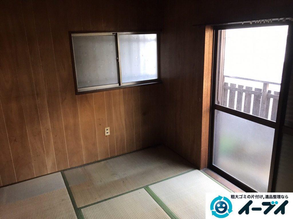 2017年3月10日大阪府大阪市大正区で足踏みミシンやタンスなど大型家具や粗大ゴミの不用品回収をしました。写真1