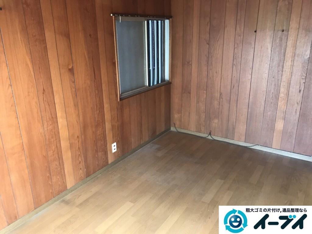 2017年2月12日大阪府大阪市天王寺区で遺品整理に伴い家具処分や生活用品の片付けをしました。写真7