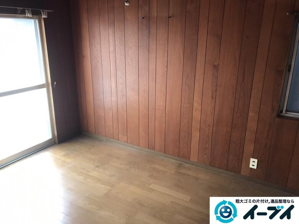 2017年2月12日大阪府大阪市天王寺区で遺品整理に伴い家具処分や生活用品の片付けをしました。写真6