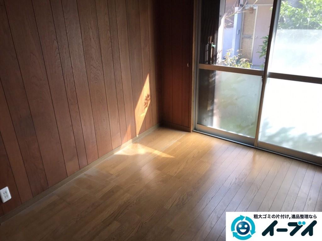 2017年2月12日大阪府大阪市天王寺区で遺品整理に伴い家具処分や生活用品の片付けをしました。写真5