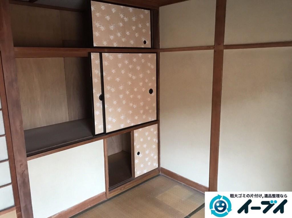 2017年2月24日大阪府堺市東区で遺品整理の依頼をいただき家具処分や生活用品を処分しました。写真7