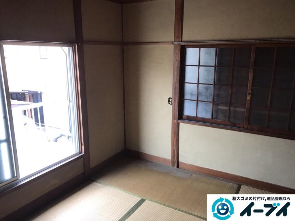 2017年2月24日大阪府堺市東区で遺品整理の依頼をいただき家具処分や生活用品を処分しました。写真6